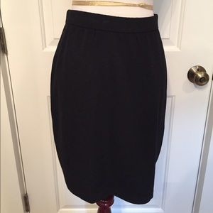 ⭐️ST. JOHN BASICS SKIRT MINI BLACK SANTANA KNIT 4
